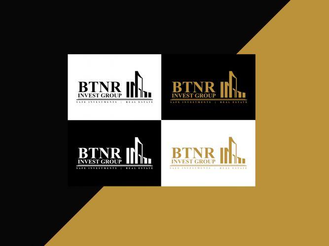 BTNR Real Estate Logo design
