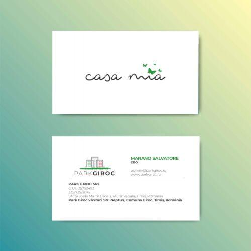 Park Giroc Carte de vizita