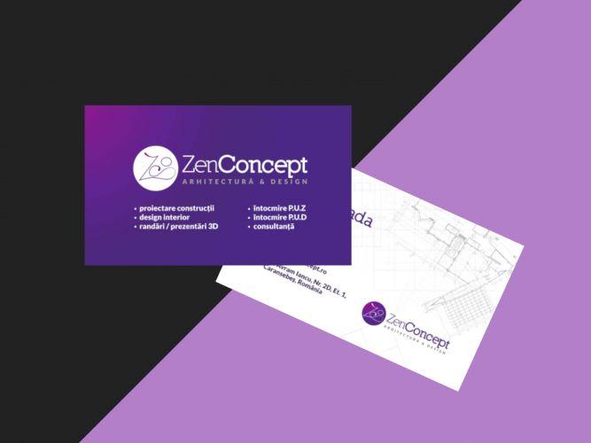 Zen Concept Carte de vizita